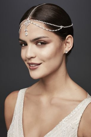 Teardrop Crystal Goddess Headband