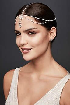 Teardrop Crystal Goddess Headband