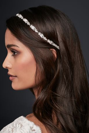 Linked Crystal Headband