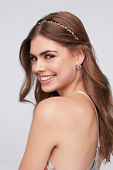 Delicate Crystal Vine Headband
