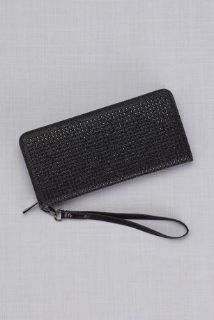 Rhinestone Wristlet Wallet