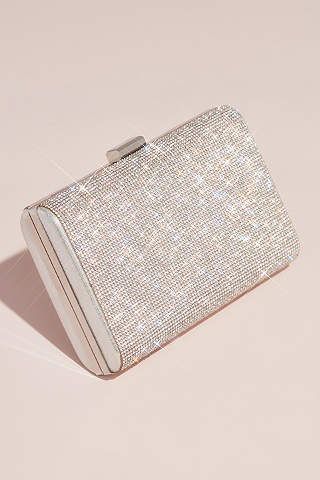 Glitter Clutch Bag Evening Bag Bridal Wedding Sparkly Prom Bag Envelope Purse