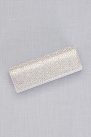 Iridescent Crystals Envelope Clutch