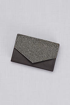 Jeweled Envelope Clutch