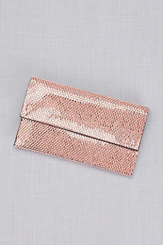 Chainmail Foldover Clutch