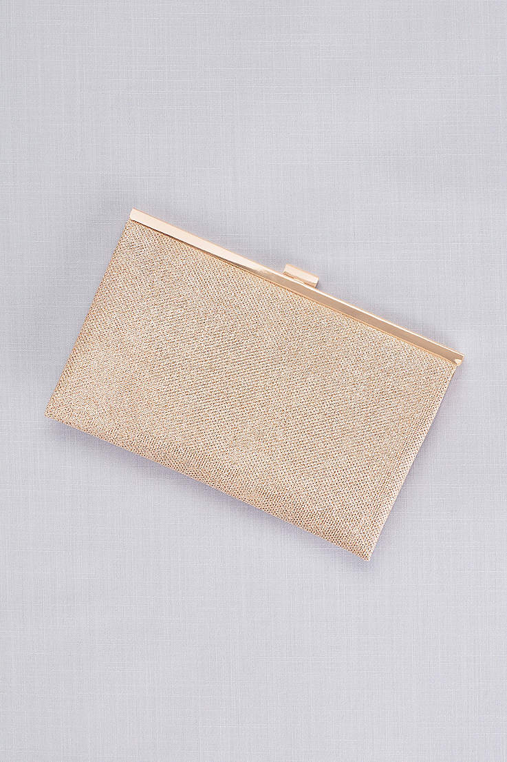 Allover Glitter Metallic Clutch 0a586942542b4