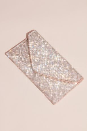 Crystal Studded Envelope Clutch