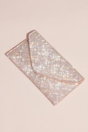 Crystal Studded Envelope Clutch