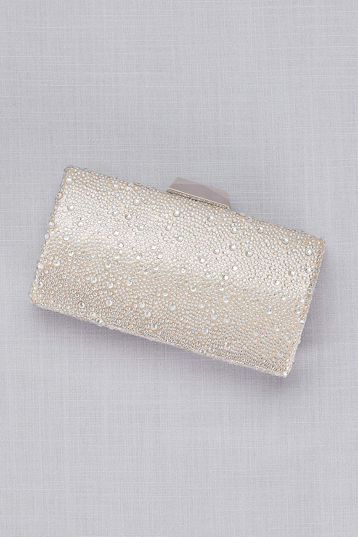 La Regale Crystal Hard Sided Clutch