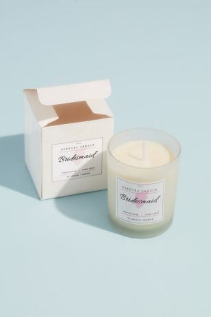 Bridesmaid Wood Wick Soy Candle