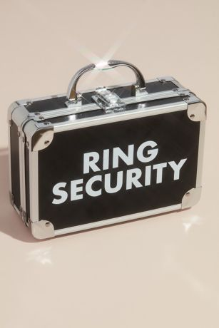 Ring Security Ring Bearer Briefcase