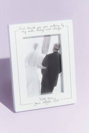 Father of the Bride Thank You Picture Frame