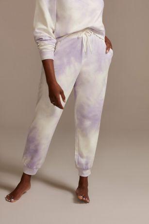 Lavender Tie-Dye Sweatpants