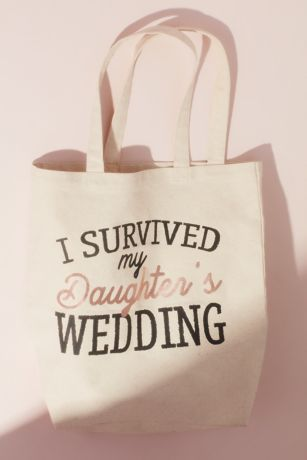 "I Survived my Daughter""s Wedding Canvas Tote Bag"