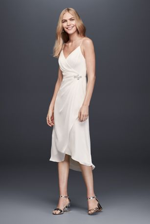 Short Sheath Spaghetti Strap Dress - DB Studio