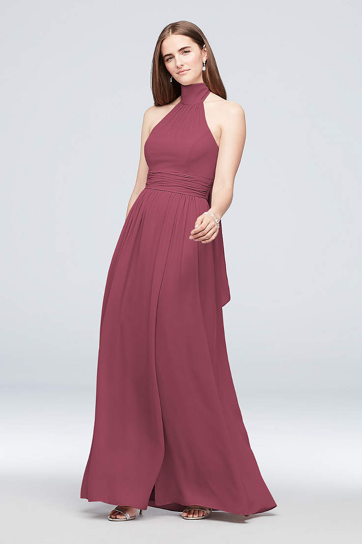 b52bd5b12fa40 Tall Bridesmaids Dresses Extra Length Dresses | David's Bridal
