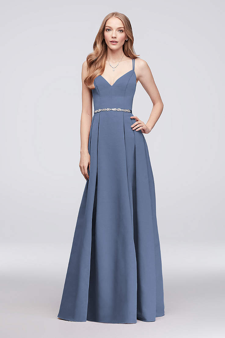 4ce826982c5 V-Neck Bridesmaid Dresses - Open Neckline Gowns | David's Bridal