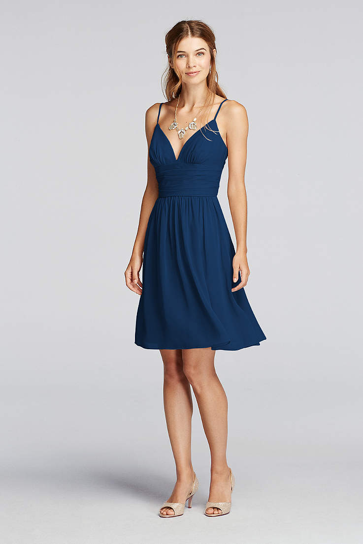 Short Bridesmaid Dresses Under 50