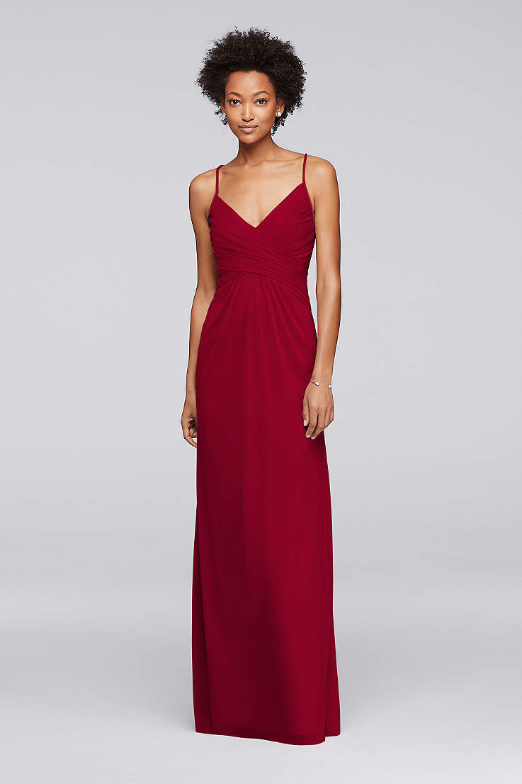 c4f9854467bf Adjustable Tie-Back Bridesmaid Dress