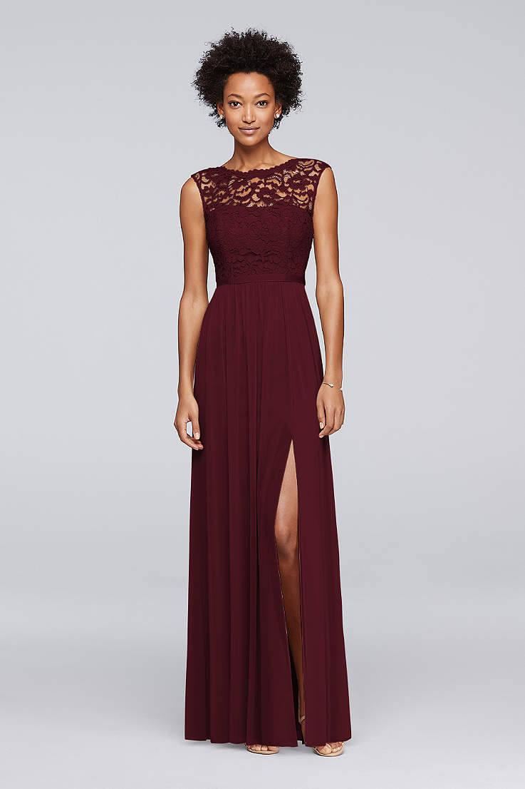 Lace Bridesmaid Dresses In Various Styles Davids Bridal