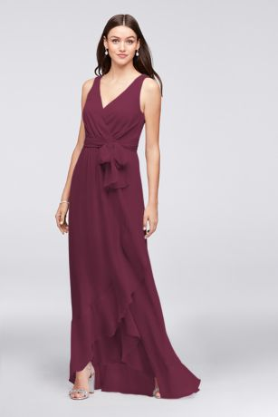 Purple Maternity Bridesmaid Dress