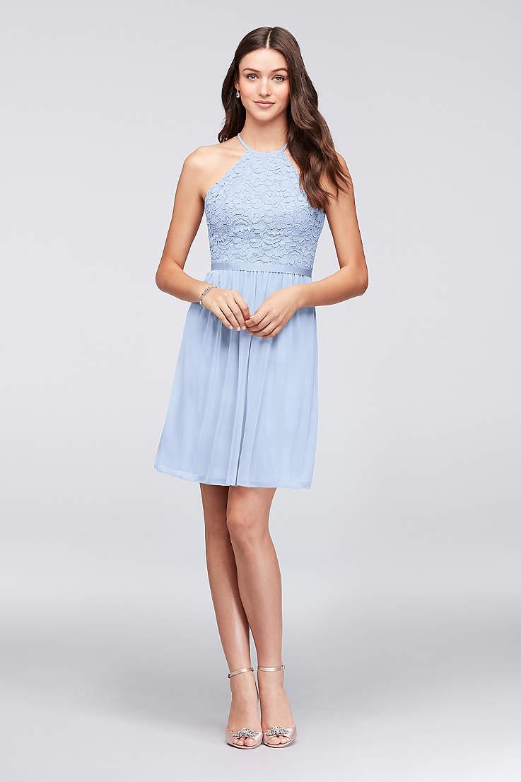 Short Bridesmaid Dresses In Various Styles David S Bridal