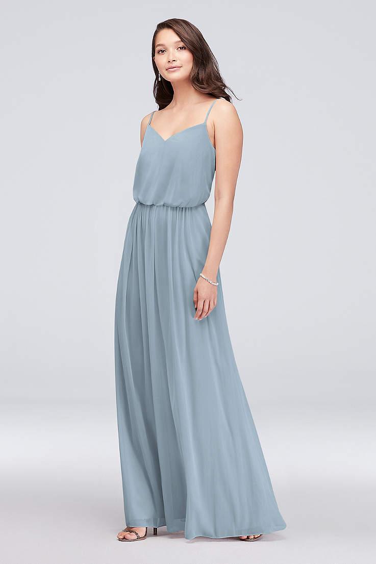 06c5f98c66bf7 Beach Bridesmaid Dresses - Flowy, Tropical Gowns | David's Bridal