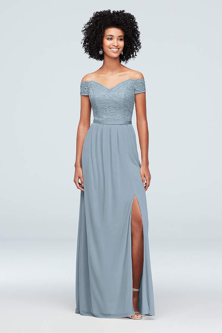 Lace Bridesmaid Dresses In Various Styles David S Bridal