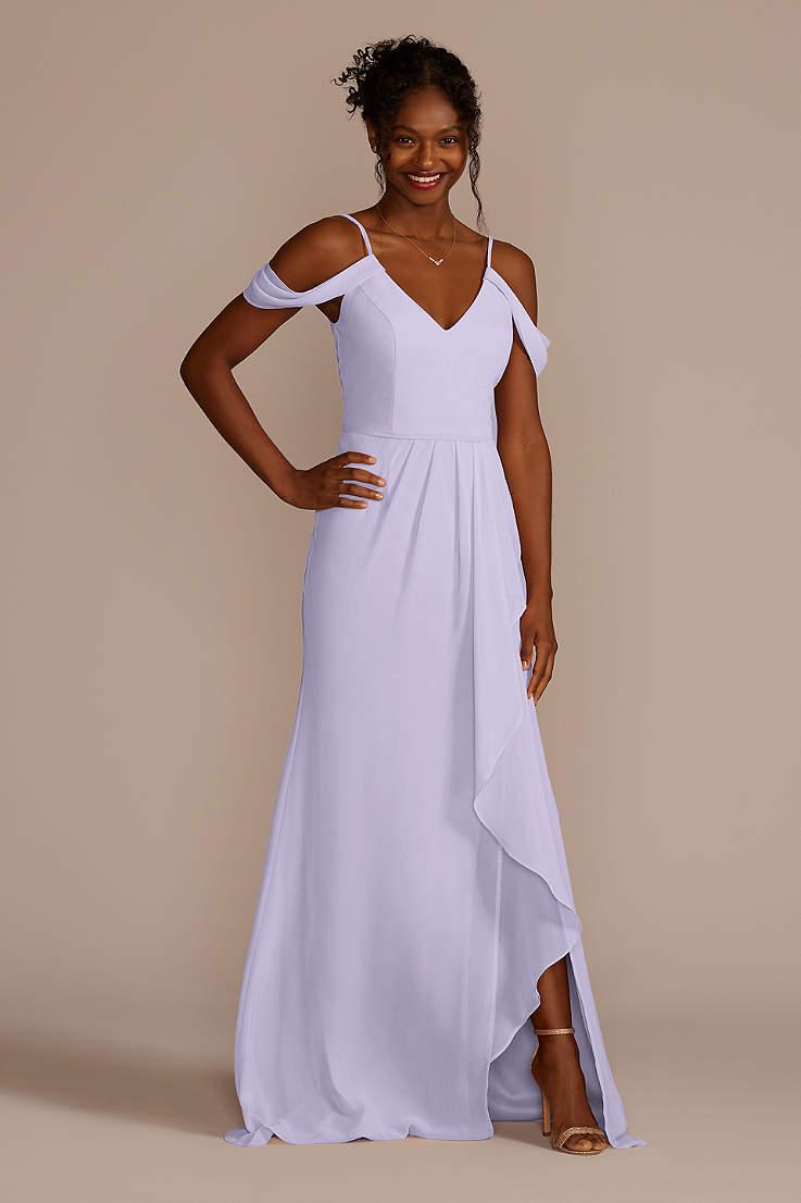 207ae7d35a Beach Bridesmaid Dresses - Flowy, Tropical Gowns | David's Bridal