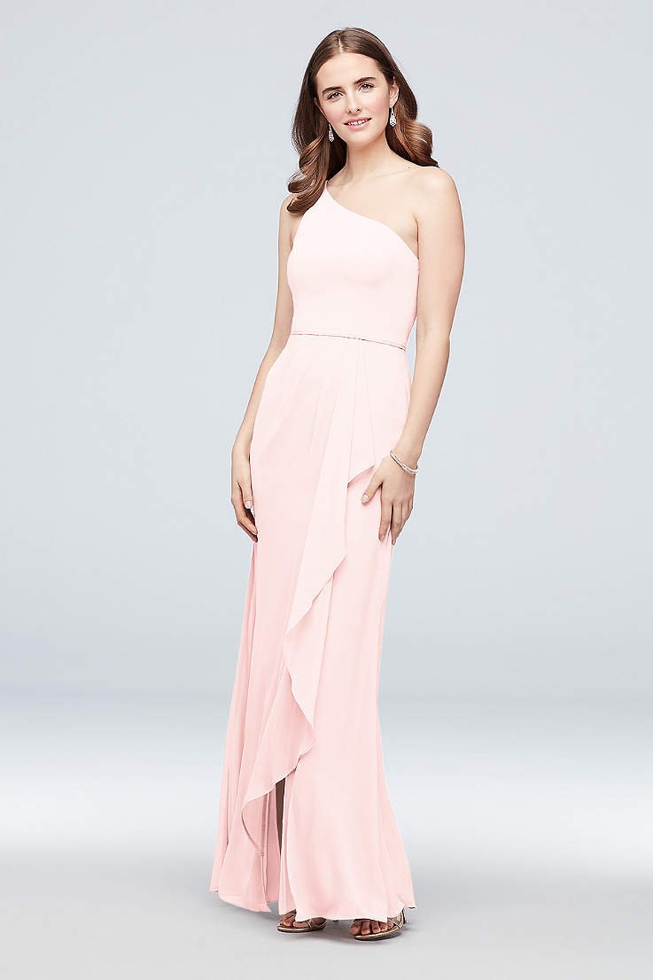 d266c88eeff2 One Shoulder Bridesmaid Dresses & Gowns | David's Bridal