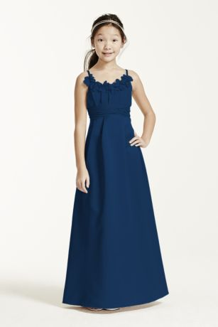 Long Ballgown Spaghetti Strap Dress - David's Bridal