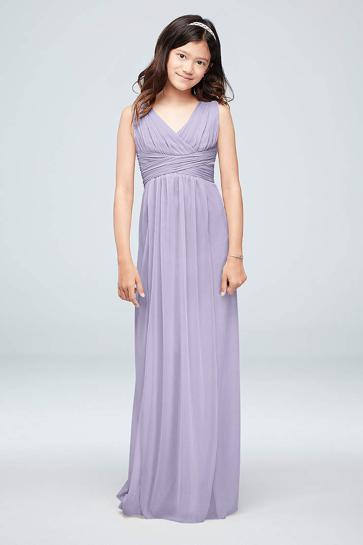 453ef52ce3 Junior Bridesmaid Dresses - Girls, Tweens, Teens | David's Bridal