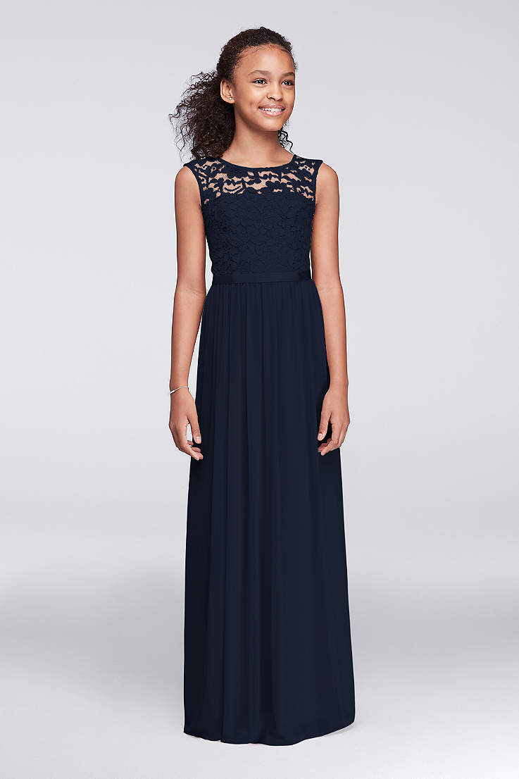 junior girls bridesmaid dresses david s bridal