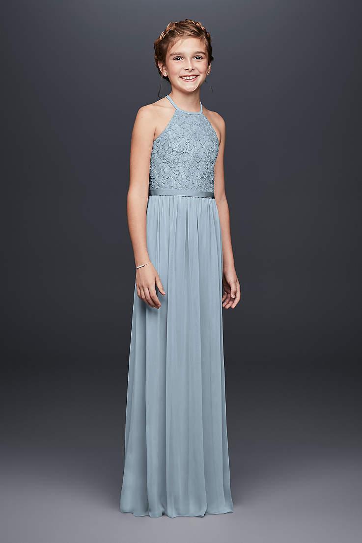 Junior Bridesmaid Dresses Girls Tweens Teens David S Bridal,Long Tight Dresses For Wedding Guest