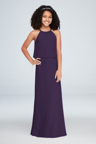 Long Sheath Halter Dress -