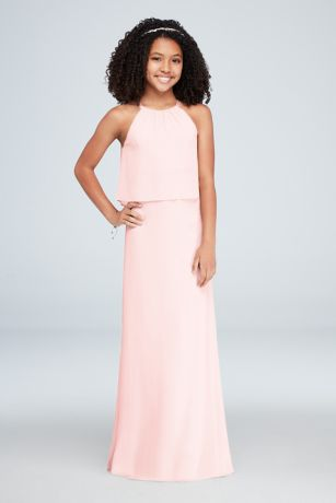 Cranberry Junior Bridesmaid Dresses