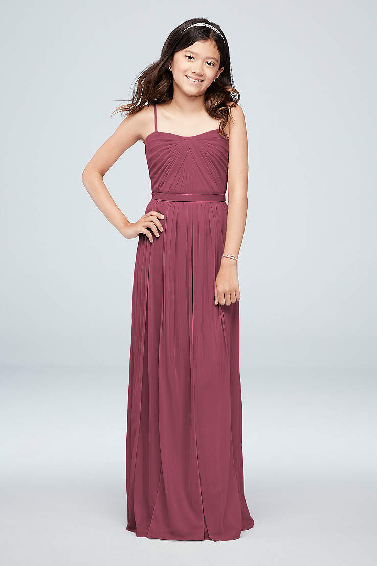 Junior   Girls Bridesmaid Dresses  022f429ec857