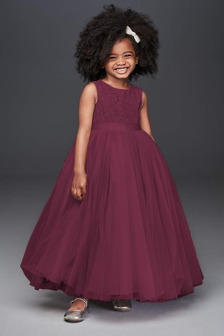 8a659428f Flower Girl Dresses in Various Colors & Styles | David's Bridal
