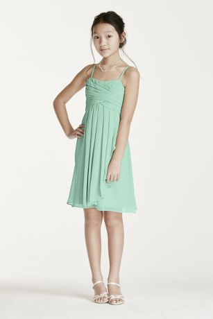 Short Sheath Spaghetti Strap Dress -