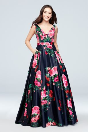 Long Ballgown Halter Dress - J By Jovani