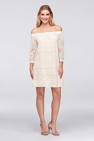 Bachelorette Party Dresses White Party Dresses Davids Bridal