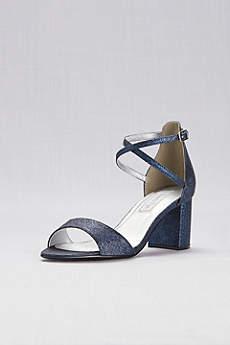 Touch Ups Beige (Crisscross Strap Mid-Heel Sandals)
