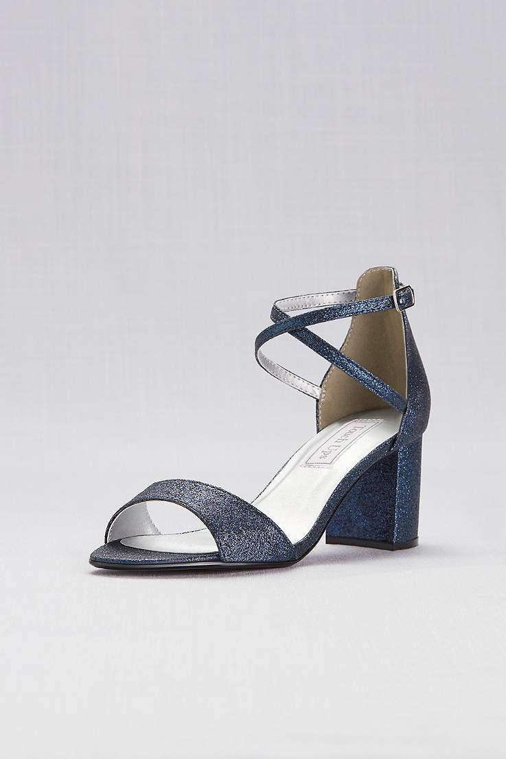 77cc17de5aeaf3 Touch Ups Beige;Blue;Grey;Ivory (Crisscross Strap Mid-Heel Sandals