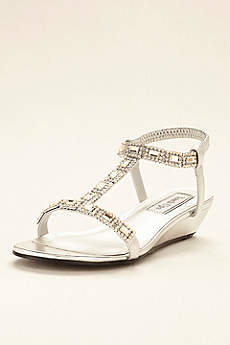 Touch Ups Grey Sandals (Touch Ups Jazz Wedge Sandal)