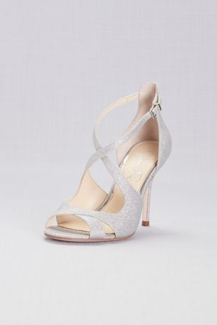 Jessica Simpson Grey Heeled Sandals (Jessica Simpson Averie Pumps)