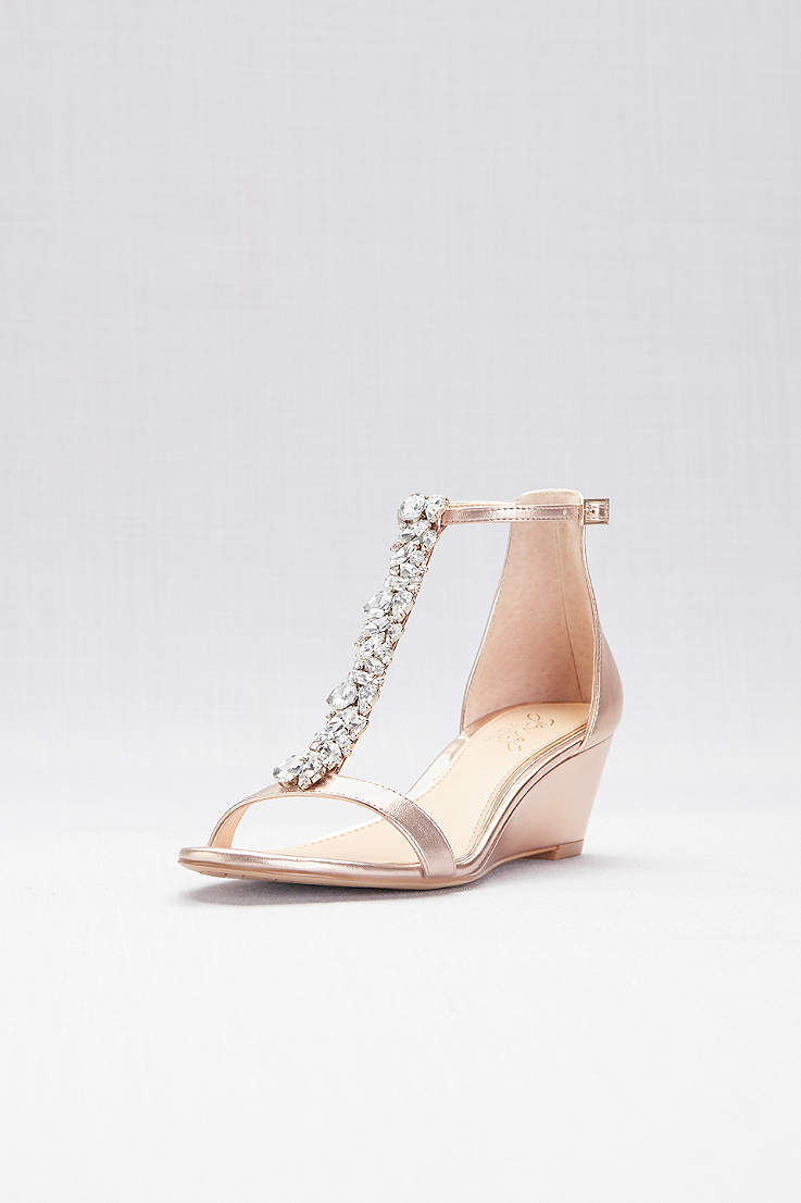 2ab09a22fdb Top 10 Punto Medio Noticias   Rose Gold Dress Sandals Low Heel