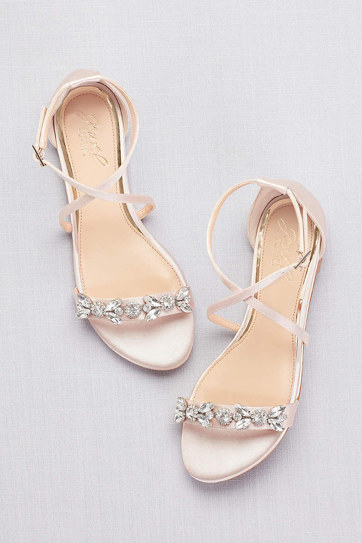 15c26c192bb31 Dressy Flats and Formal Shoes Under 1 Inch High | David's Bridal