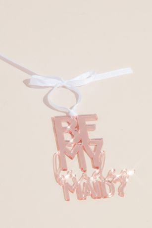 Be My Bridesmaid Wine Bottle Tag