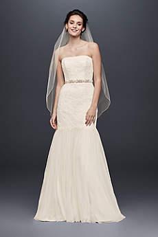 Long Mermaid/ Trumpet Beach Wedding Dress - Galina