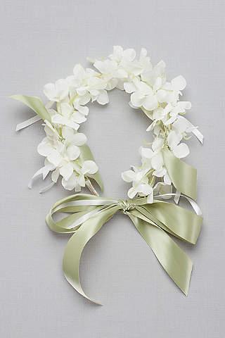 Dog cat pet wedding accessories davids bridal floral ribbon dog collar junglespirit Choice Image